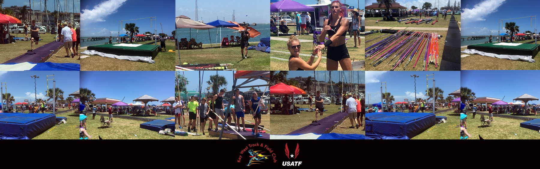 Pole Vault in Paradise