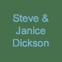 Steve & Janice Dickson